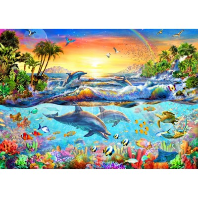 Bluebird-Puzzle - 3000 pieces - Tropical Bay