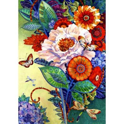 Bluebird-Puzzle - 1500 pieces - The Mixed Bouquet