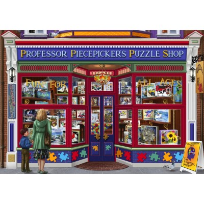 Bluebird-Puzzle - 1500 pieces - Professor Puzzles