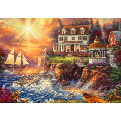 Bluebird-Puzzle - 1000 pieces - Life Above the Fray