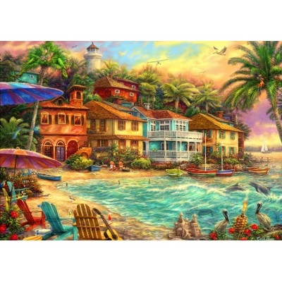 Bluebird-Puzzle - 2000 pieces - Island Time