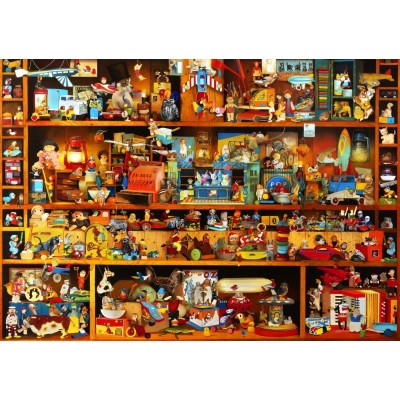 Bluebird-Puzzle - 1000 pieces - Toys Tale