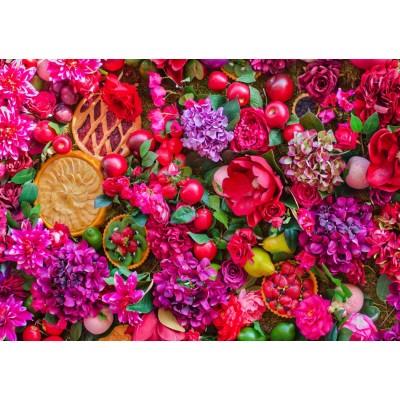 Bluebird-Puzzle - 1500 pieces - Flowers & Fruits