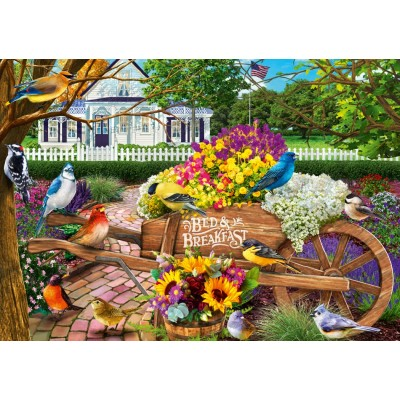 Bluebird-Puzzle - 1000 pieces - Bed & Breakfast