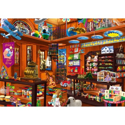 Bluebird-Puzzle - 1000 pieces - Toy Shoppe Hidden