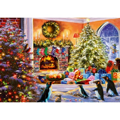 Bluebird-Puzzle - 1000 pieces - A Magical View to Christmas