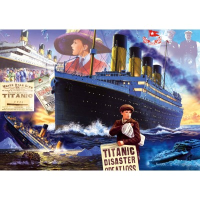 Bluebird-Puzzle - 1000 pieces - Titanic