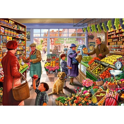 Bluebird-Puzzle - 1000 pieces - Village Greengrocer