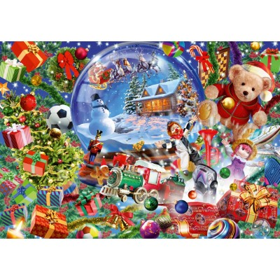 Bluebird-Puzzle - 1000 pieces - Christmas Globe