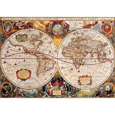 Bluebird-Puzzle - 1000 pieces - Antique World Map