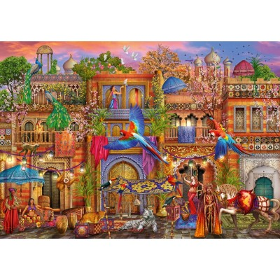 Bluebird-Puzzle - 1000 pieces - Arabian Street