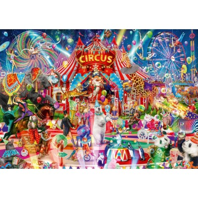 Bluebird-Puzzle - 1000 pieces - A Night at the Circus