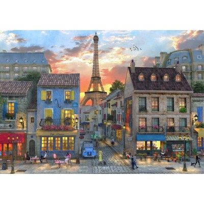 Bluebird-Puzzle - 4000 pieces - Streets of Paris