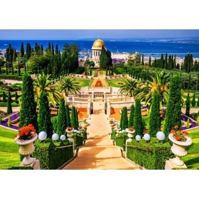 Bluebird-Puzzle - 1000 pieces - Bahá'í gardens