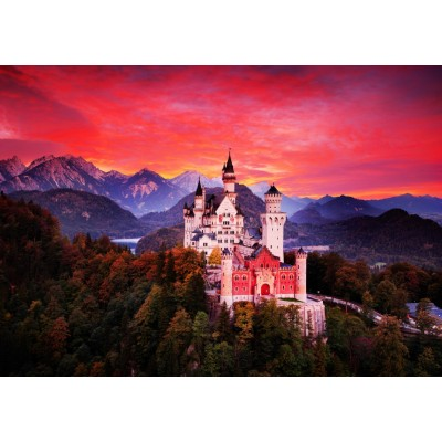 Bluebird-Puzzle - 1000 pieces - Neuschwanstein