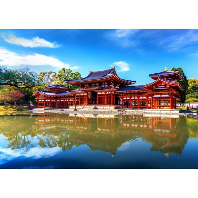 Bluebird-Puzzle - 1000 pieces - Byodo-In Temple
