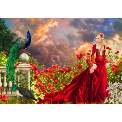 Bluebird-Puzzle - 1500 pieces - Concubine