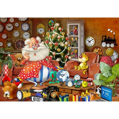 Bluebird-Puzzle - 1000 pieces - Christmas Time!