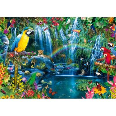 Bluebird-Puzzle - 1000 pieces - Parrot Tropics