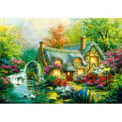 Bluebird-Puzzle - 1000 pieces - Country Retreat