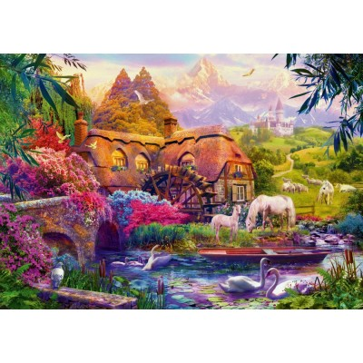 Bluebird-Puzzle - 1000 pieces - Old Mill