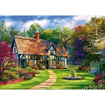 Bluebird-Puzzle - 1000 pieces - The Hideaway Cottage