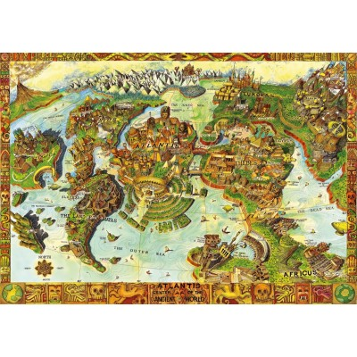 Bluebird-Puzzle - 1000 pieces - Atlantis Center of the Ancient World