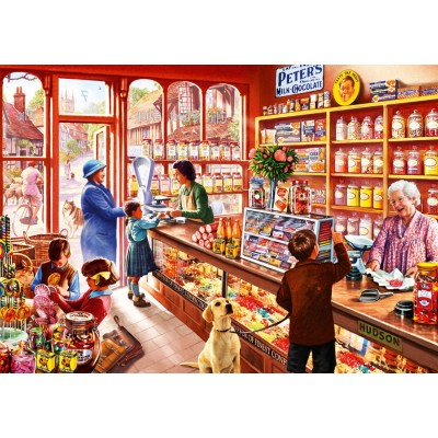 Bluebird-Puzzle - 1000 pieces - Sweetshop