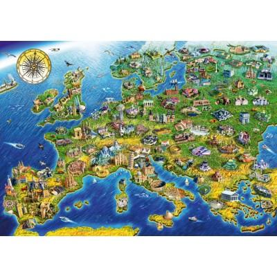 Bluebird-Puzzle - 1000 pièces - European Landmarks
