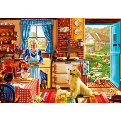 Bluebird-Puzzle - 1000 Teile - Cottage Interior