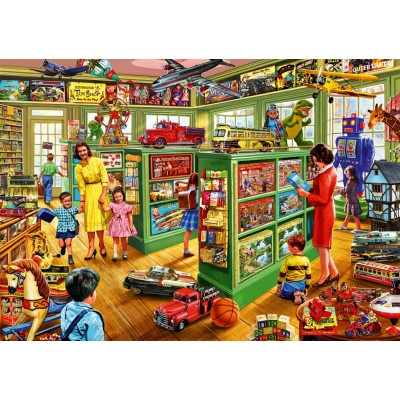 Bluebird-Puzzle - 1000 pieces - Toy Shop Interiors