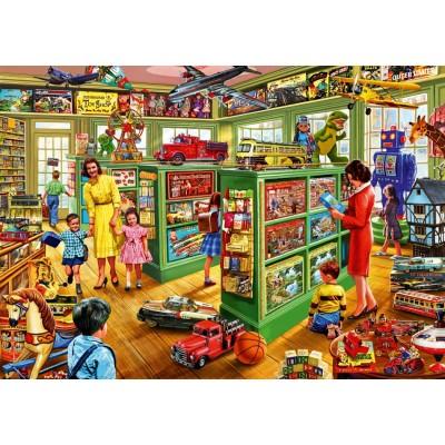 Bluebird-Puzzle - 1000 pièces - Toy Shop Interiors