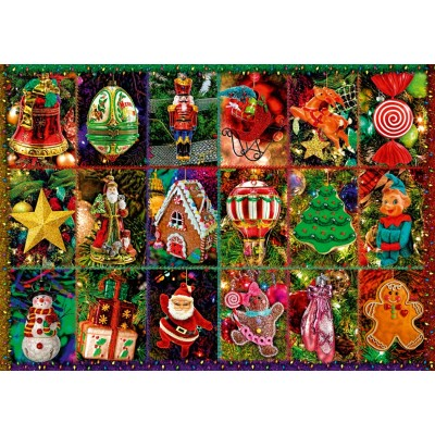 Bluebird-Puzzle - 1000 pieces - Festive Ornaments