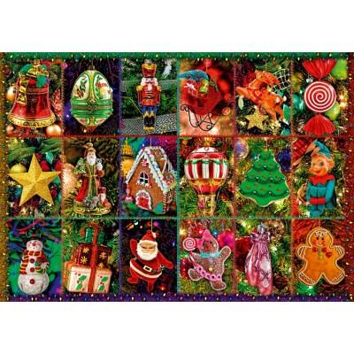 Bluebird-Puzzle - 1000 Teile - Festive Ornaments