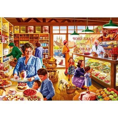 Bluebird-Puzzle - 1000 Teile - Nostalgic Cake shop