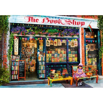 Bluebird-Puzzle - 1000 pieces - The Bookshop Kids