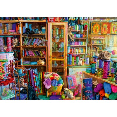 Bluebird-Puzzle - 1000 pièces - Kitty Heaven