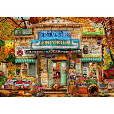 Bluebird-Puzzle - 1000 Teile - The General Store