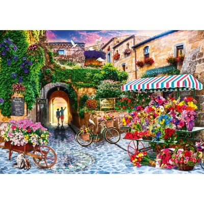 Bluebird-Puzzle - 1000 pieces - The Flower Market