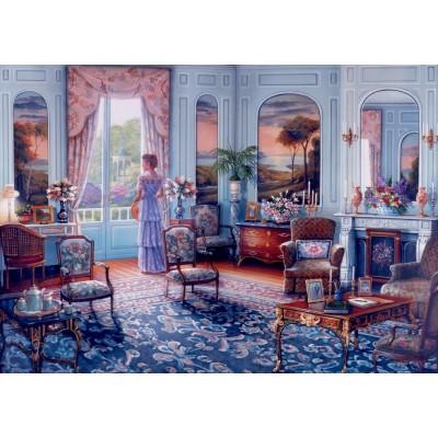 Bluebird-Puzzle - 1000 Teile - Romantic Reminiscence