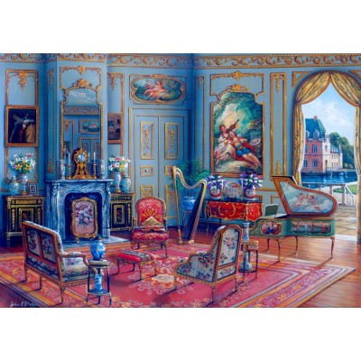 Bluebird-Puzzle - 1000 pieces - The Music Room