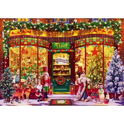 Bluebird-Puzzle - 1000 pieces - Festive Shop