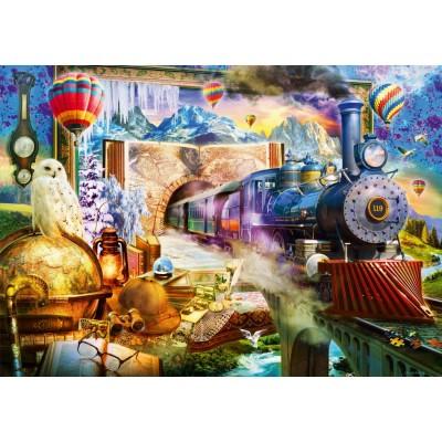 Bluebird-Puzzle - 1000 Teile - Magical Journey