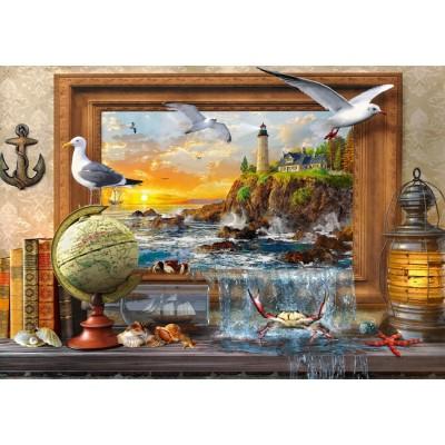 Bluebird-Puzzle - 1000 Teile - Marine to Life