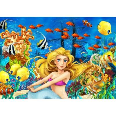 Bluebird-Puzzle - 150 pieces - Mermaid