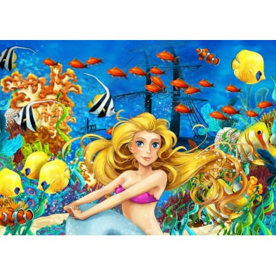 Bluebird-Puzzle - 150 Teile - Mermaid