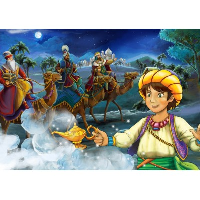 Bluebird-Puzzle - 100 pièces - Aladdin