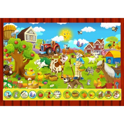 Bluebird-Puzzle - 100 pieces - Search and Find - The Toy Factory