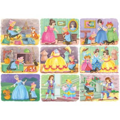 Bluebird-Puzzle - 100 Teile - Cinderella