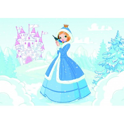 Bluebird-Puzzle - 48 Teile - Princess in the Snow